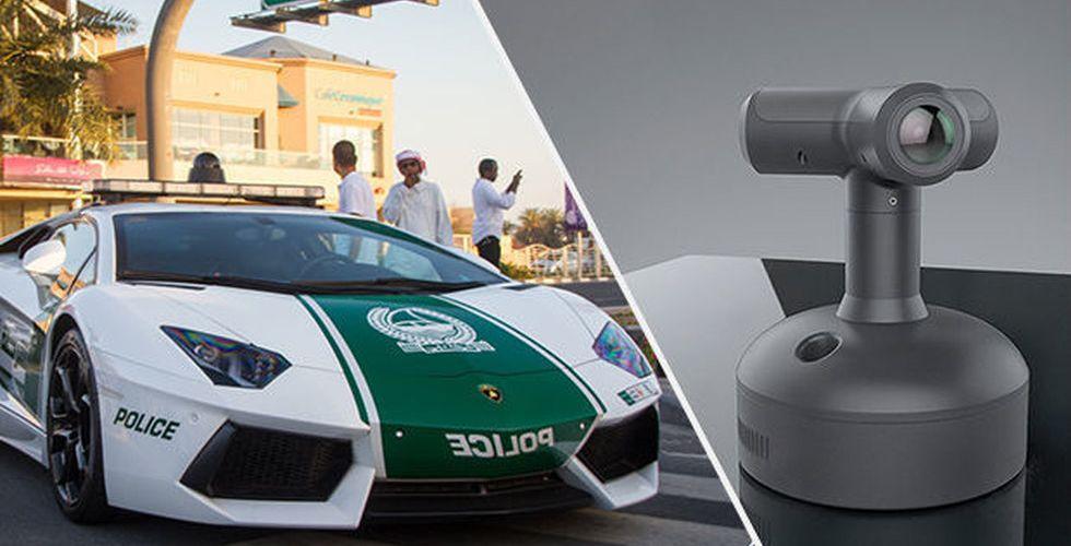 Svenska Briskeye börjar kränga 360-kameror till polisen i Dubai