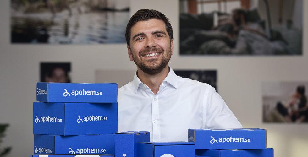 """Axfood öser in nya miljoner i Apohem: """"Spännande tider"""""""