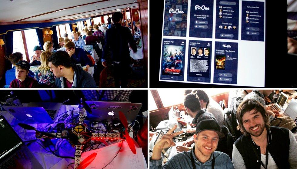 Breakit - Hundra hackare på havet - en rapport från Gothenburg Startup Hack