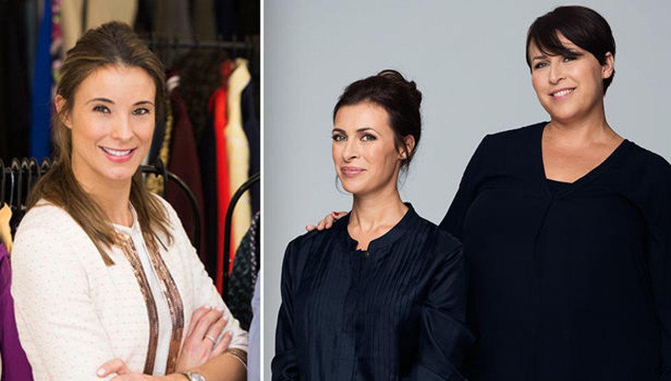 Hanna Widell och Amanda Schulman köper in sig i Elin Ryers Used-a-porter