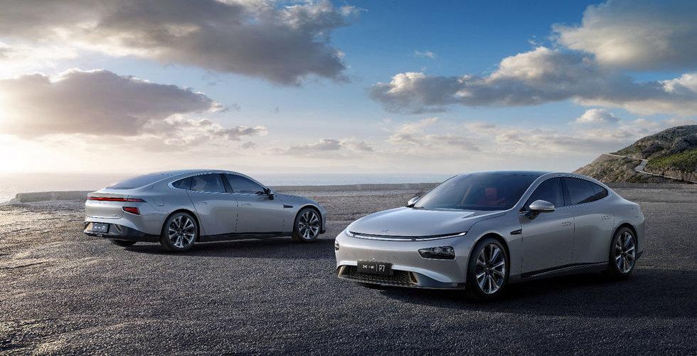 Elbilsstartupen Xpeng Motors har fått in nya investeringar på 4,5 miljarder