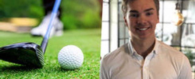 19-åringens app Sista Nio ska maxa golfen
