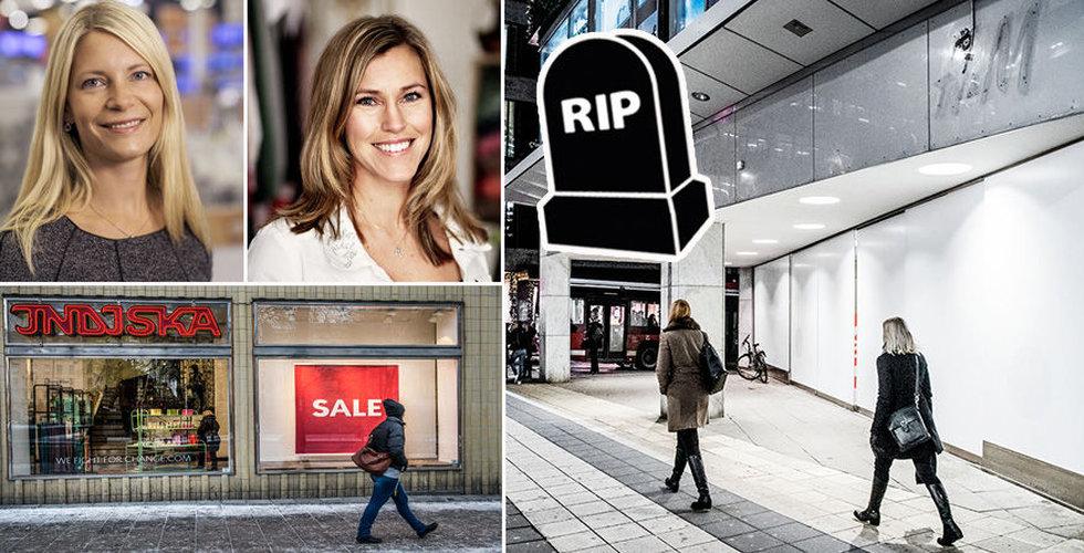 Butiksdöd och digitalhets? Här är butikerna som haft det tufft i år