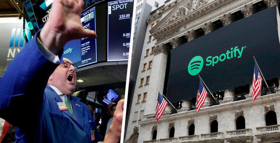 Efter stämningen mot Spotify – streamingjättens börskurs faller
