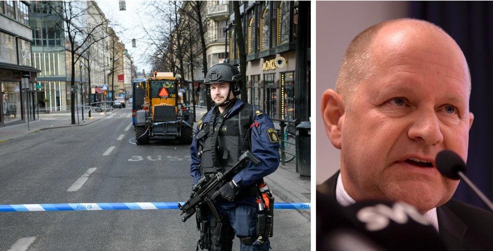 Polisen: Misstankarna stärks mot den anhållne mannen