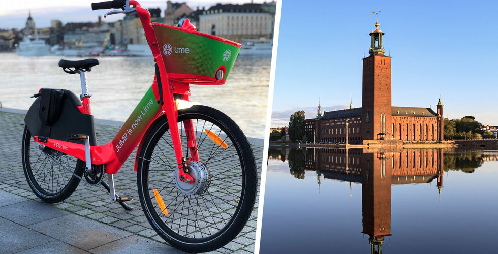 Lime lanserar hyrbara elcyklar i Stockholm