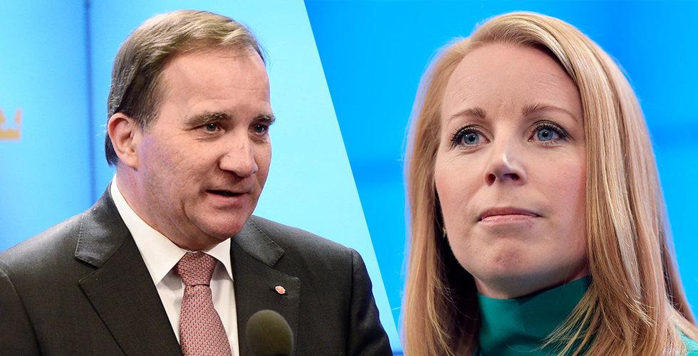 Annie Lööf öppnar för Stefan Löfven som statsminister