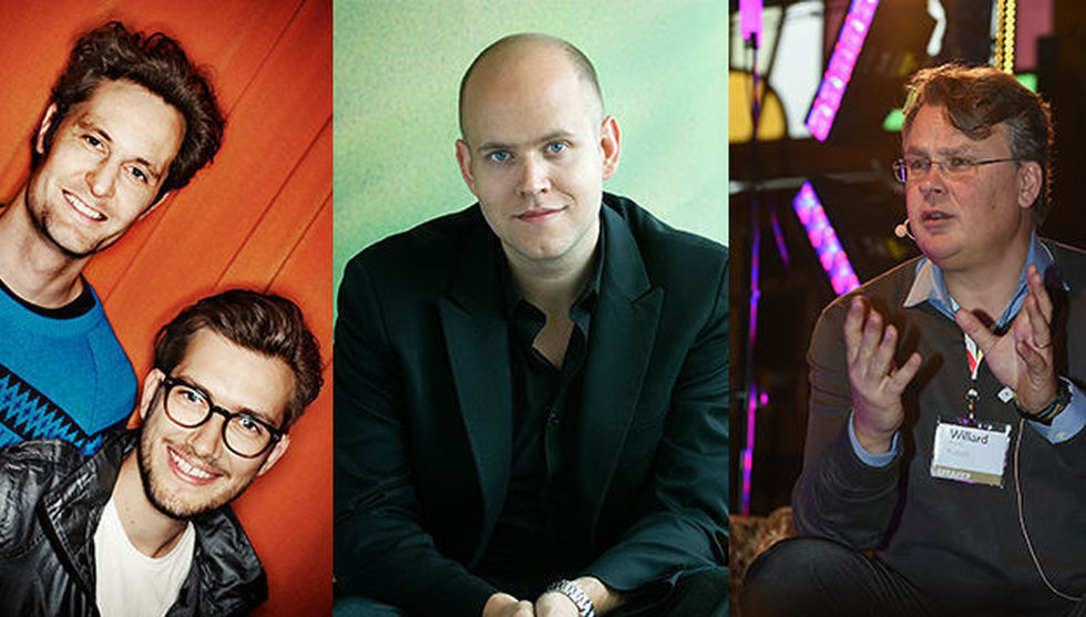 Breakit - Musikindustrins 100 tungviktare – här är techsvenskarna på listan