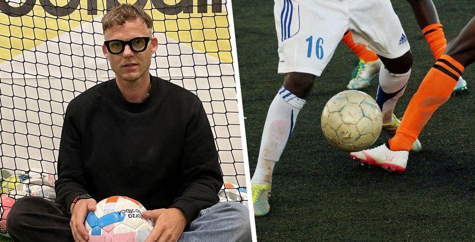 Pandemin slog hårt mot Forza Football – då gjorde Patrik Arnesson om allt