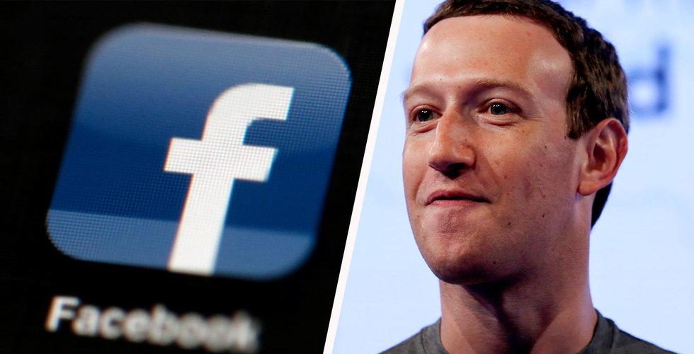 Breakit - Möte mellan Facebook och Representanthuset skjuts upp på grund av dåligt väder