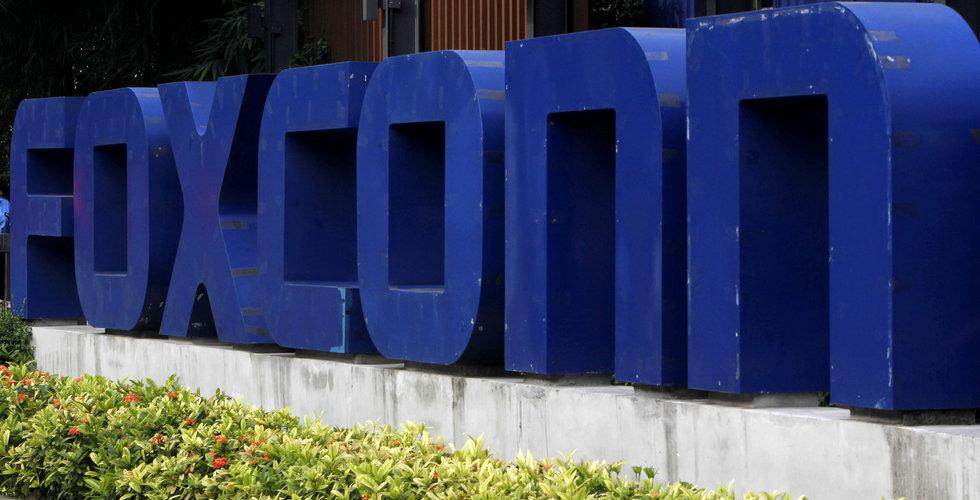 Apple-leverantören Foxconn gör stora investeringar i AI
