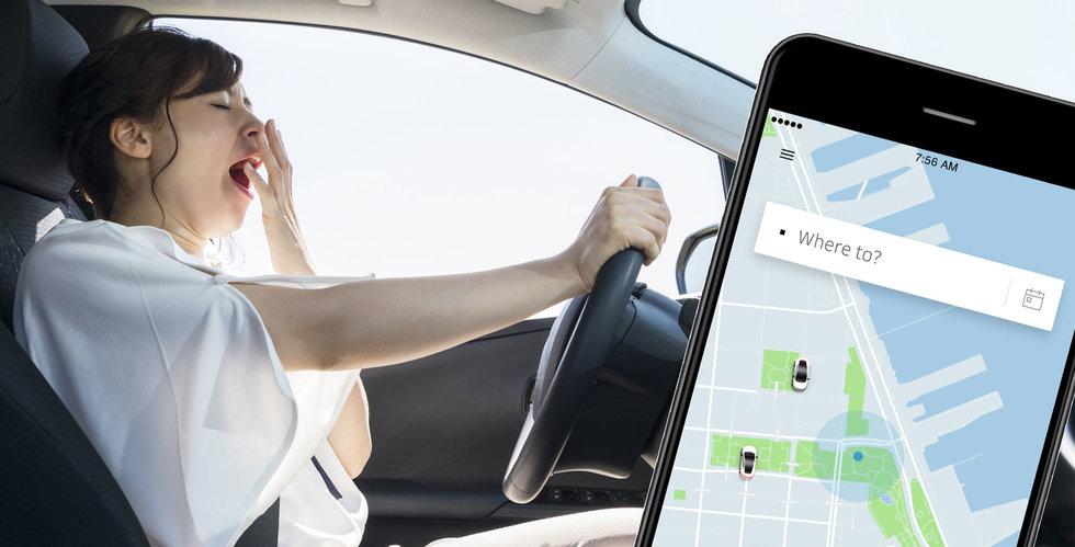 Breakit - Uber ska stoppa trötta förare – genom att stänga av appen