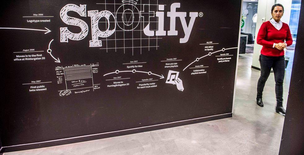 Spotifys förlust ökade rejält i fjol – trots rusning för intäkterna