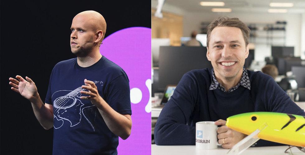 """Fishbrain-grundarens hyllning till Spotifys Daniel Ek: """"En jättebra förebild"""""""