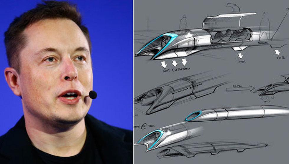 Breakit - Hyperloop tar in 650 miljoner kronor till sitt framtidens supertåg