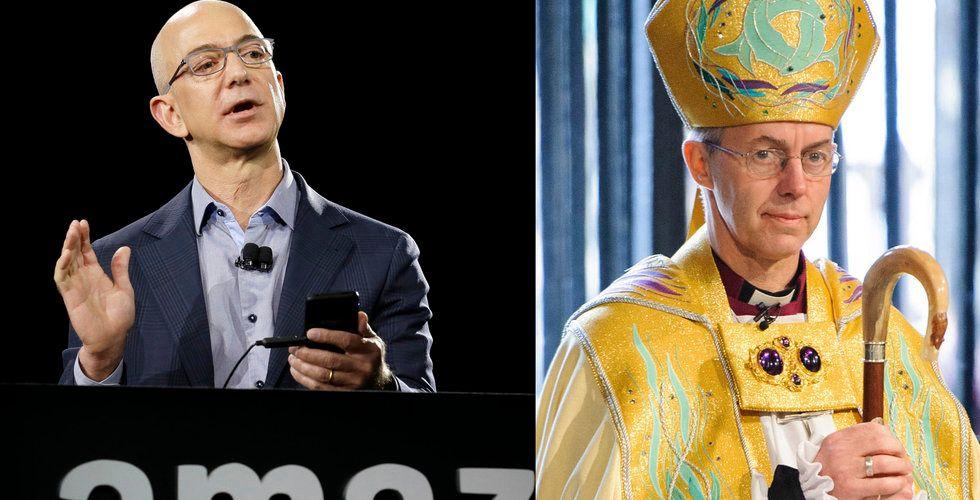 Engelska kyrkan attackerade Amazon – är själv aktieägare