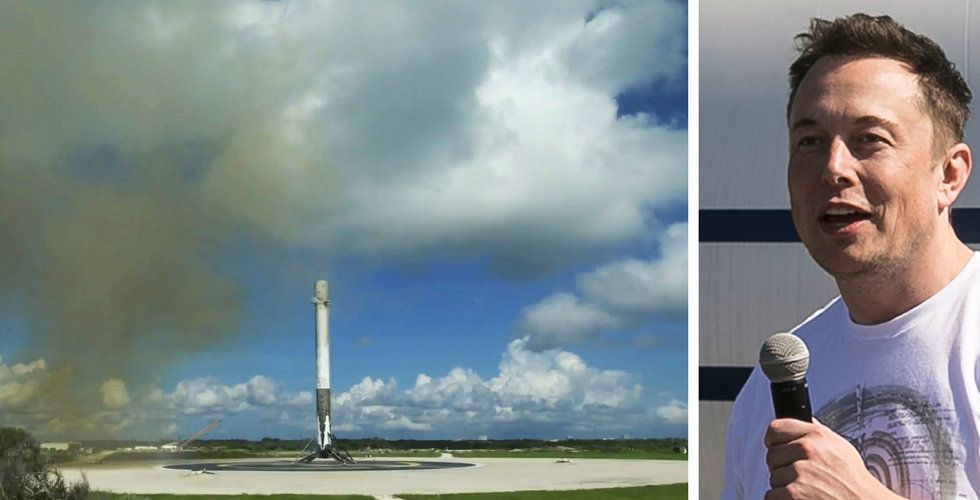 Elon Musks SpaceX gjorde sin 15:e lyckade landning i rad