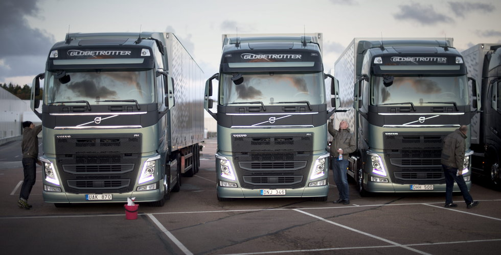 Volvos ordförande storköper