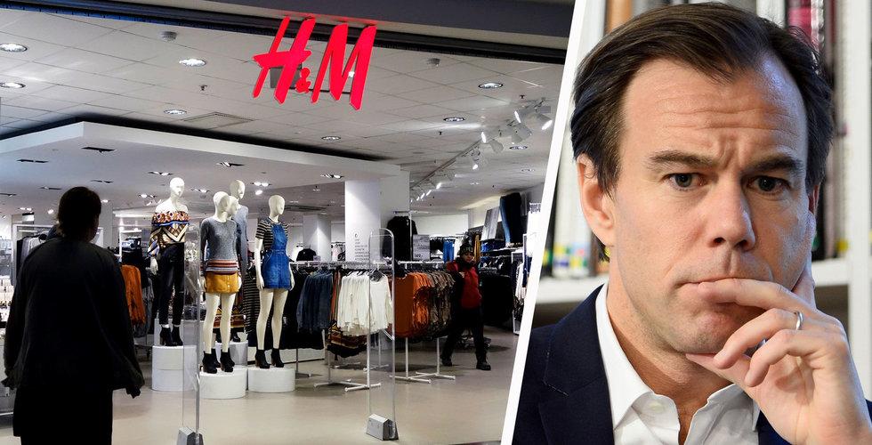 H&M ändrar provisionsvillkor för tusentals anställda