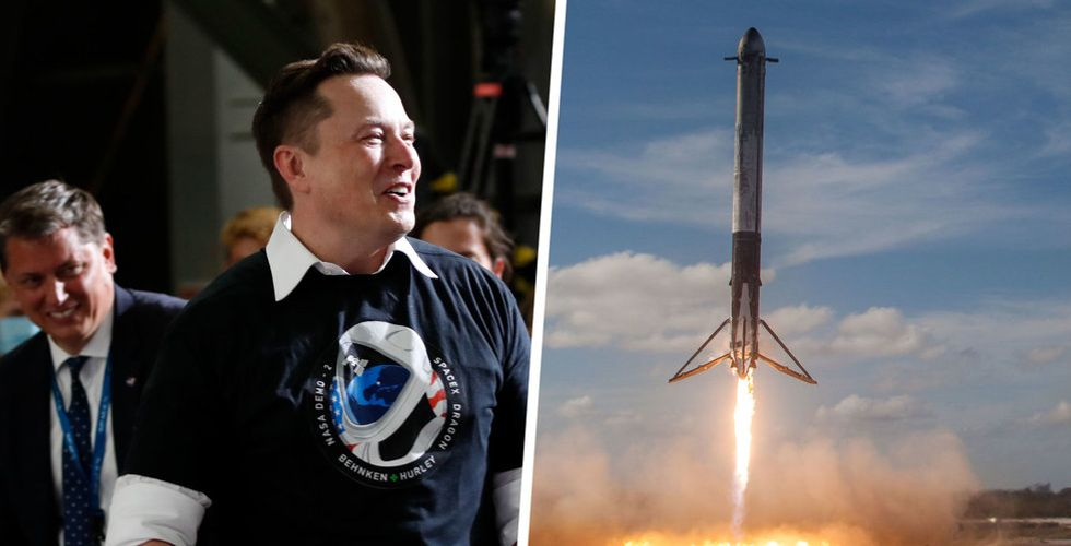 Elon Musks SpaceX fyller kassan igen – med 16 miljarder