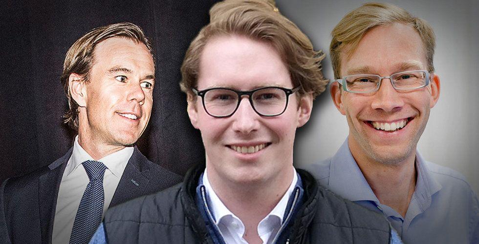 Han vill hjälpa dig att ladda mobilen – backas av Karl-Johan Persson och Stefan Krook