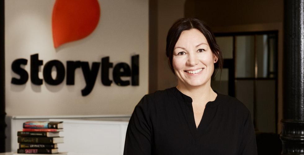 Storytel utser Helena Gustafsson till ny tjänst som chef för global innehållssatsning