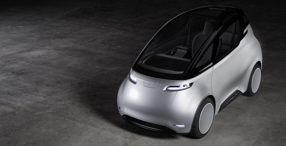 Uniti passerar en halv miljard i förbokningar för sin elbil