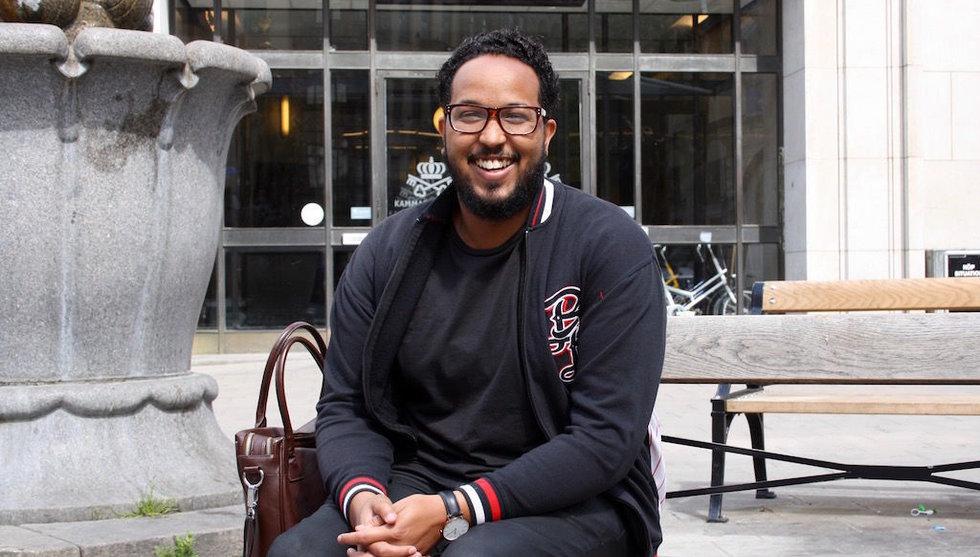 Zakaria Hersi startar Orten.io - tar techvärlden till förorten Tensta