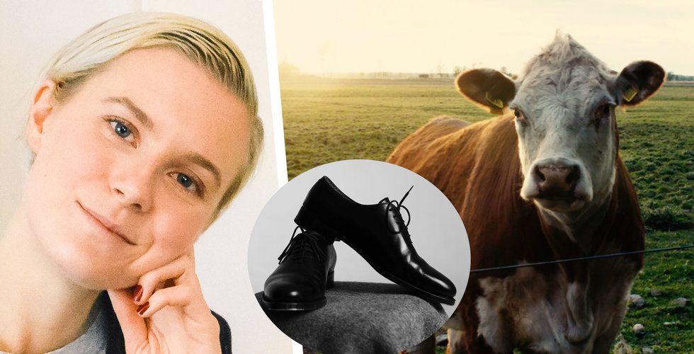 Josefin Liljeqvist vill sätta djurskydd på kartan – genom lyxiga skor av koläder