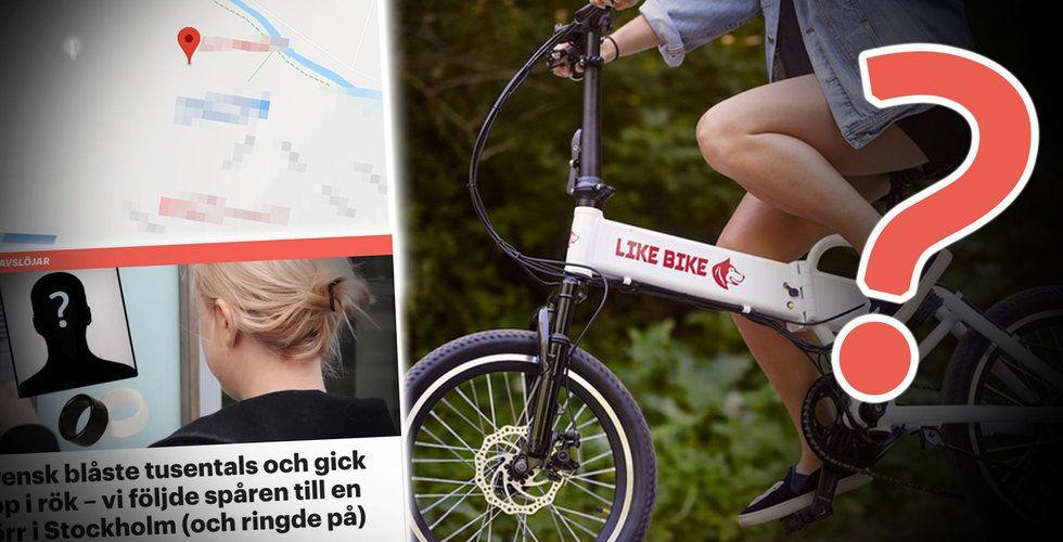 Miljoner till svenska elcykeln Like Bike – i vad som kan vara största svenska crowdfundingbluffen någonsin