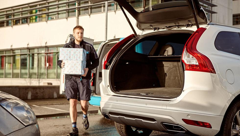 Breakit - Volvo och e-handlare lanserar tjänst som gör bilen till brevlåda