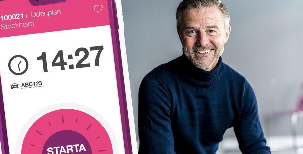 """Easypark ska dra in 2 miljarder: """"Rekordmånader hela tiden"""""""