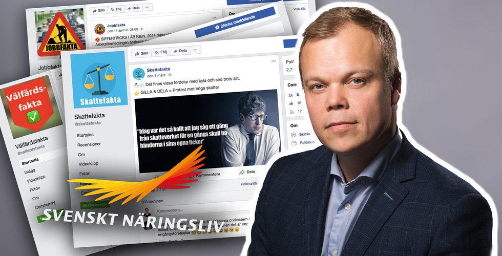 """Breakit - Svenskt näringsliv i blåsväder efter Facebook-kampanjer: """"Skrämmande"""""""
