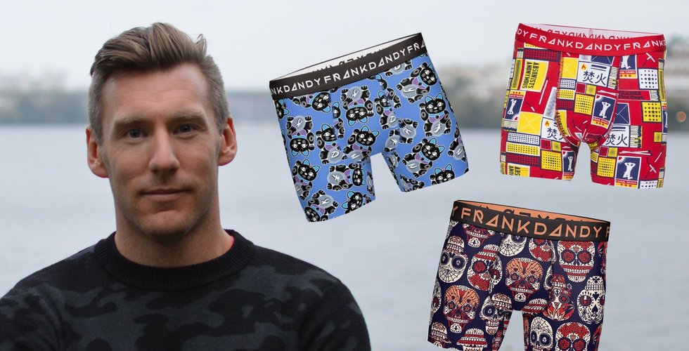 Kalsongbolaget Frank Dandy dubblar sina intäkter från e-handeln