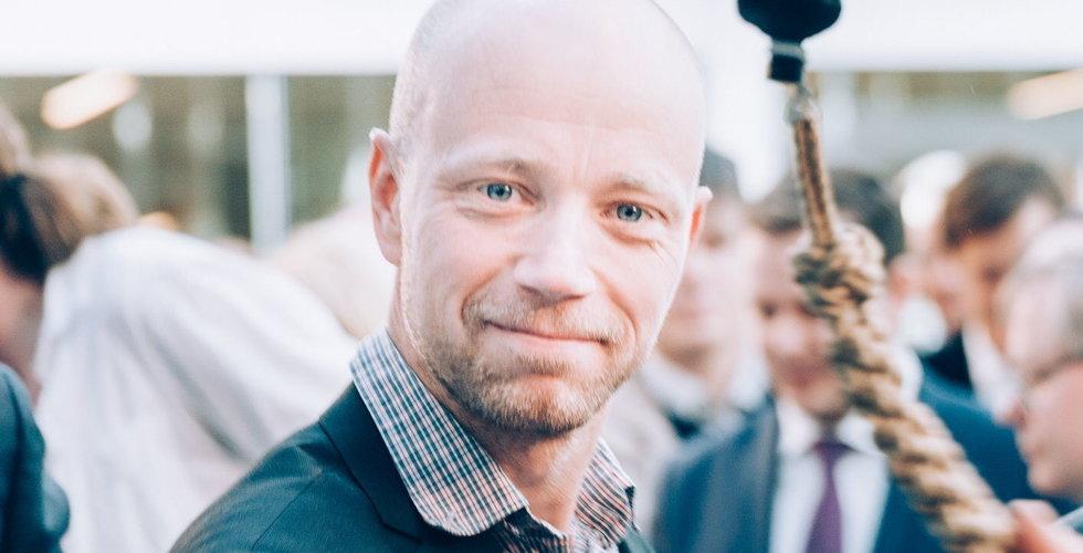 Medgrundaren John Elvesjö slutar som vice vd i Tobii