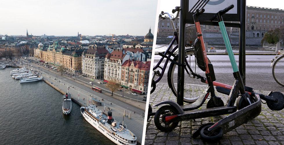 Voi stöttar organisationen Rena Mälaren – har hittat 200 elsparkcyklar i vattnet