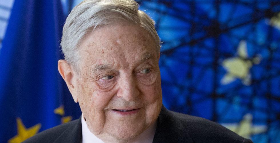 Soros lägger över 800 miljoner på bolag som satsar på blockchain
