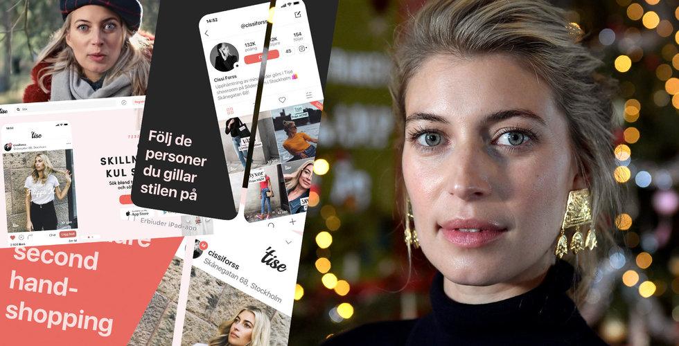 Cissi Forss lanserar app mitt under julkalendern – stoppas av SVT
