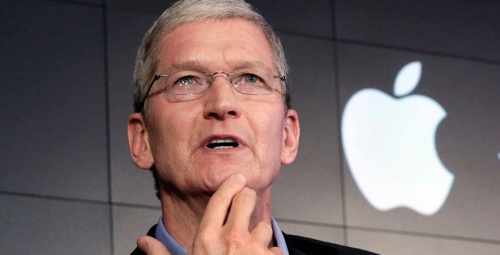 Brant fall för Apple när New York-börserna öppnar på minus