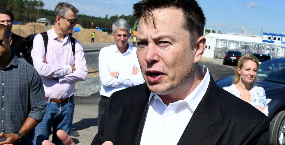 Locket på om Elon Musks Sverigebesök – kan lämna landet idag