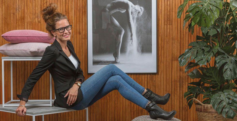 """Caroline Björkman: """"Jag drog soffor åt höger och vänster"""""""
