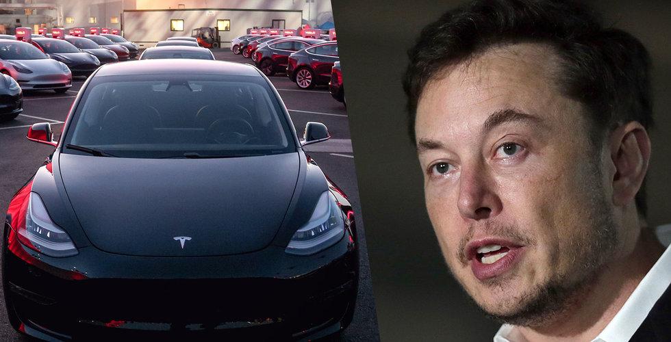 Tyskland tvingar Tesla återkalla bilar