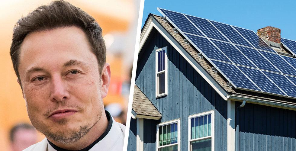 """Tesla vill hyra ut solceller till villaägare – i Sverige: """"Som att ha en pengaskrivare på taket"""""""