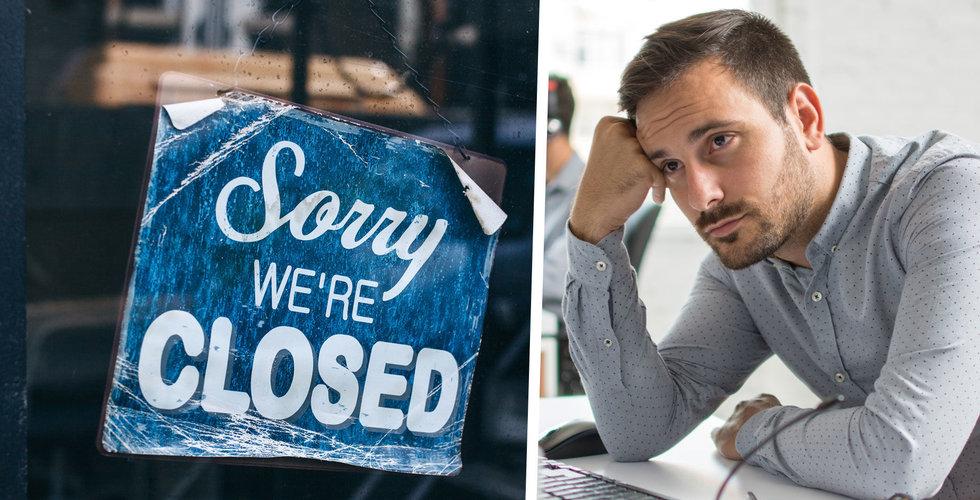 Corona-krisen slår hårt – högsta konkurssiffran på 10 år