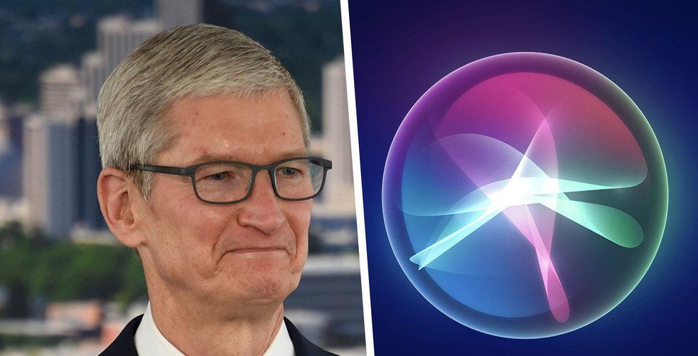Apple-konsulter får inte längre ta del av Siri-konversationer