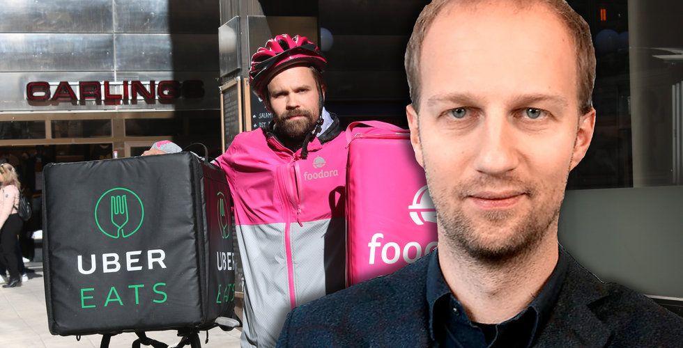 """""""Därför vill Uber Eats och Foodora bli av med all sin personal"""""""