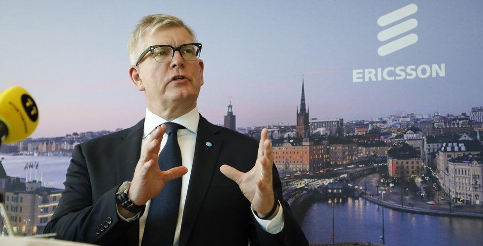 """Ericsson överraskar – men Ekholm tonar ner: """"Återstår mer arbete"""""""
