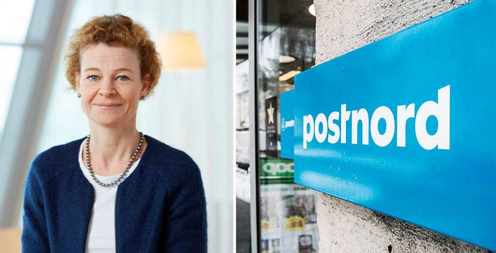 """Annemarie Gardshol ska vinna tillbaka förtroendet för Postnord: """"Vi har en plan"""""""