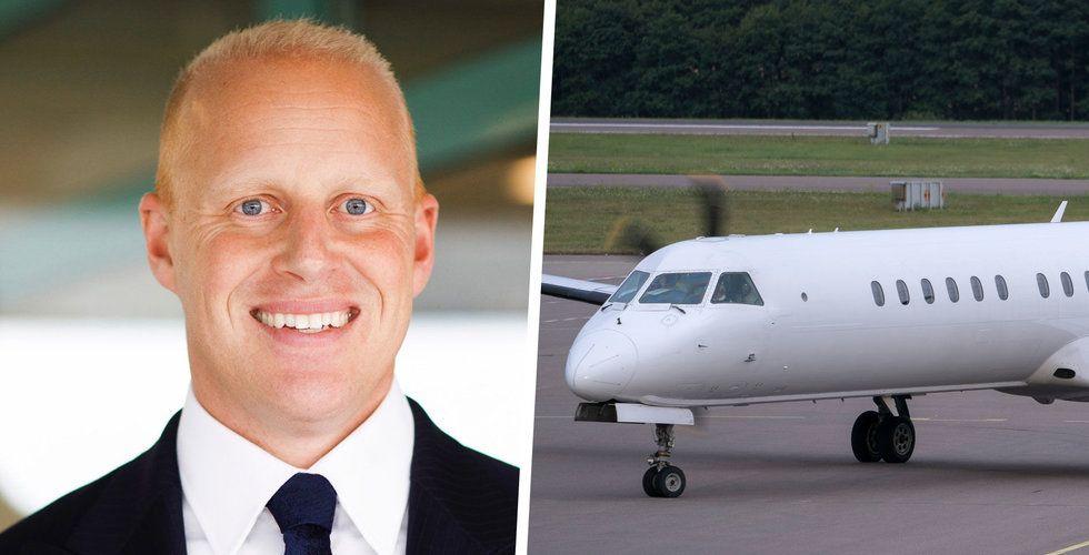 Henrik Persson Ekdahls oväntade drag – startar eget flygbolag i pandemin