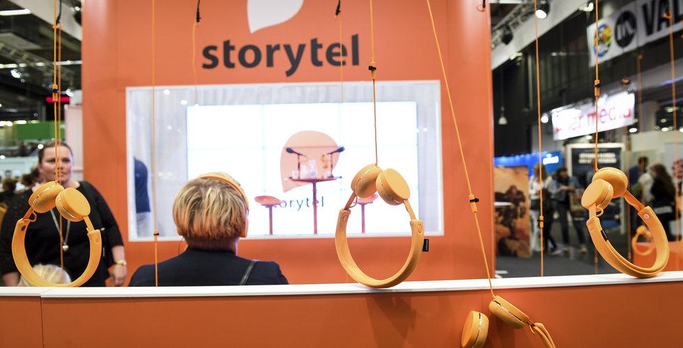 Storytels förlust större än väntat – sänker prognoserna